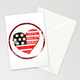 American Love Stationery Cards