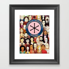 Greendale Human Beings Framed Art Print