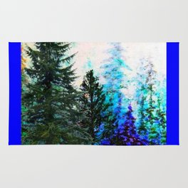 BLUE MOUNTAIN PINES LANDSCAPE Rug