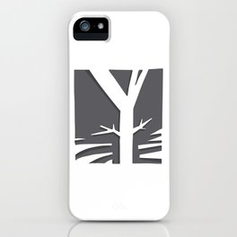 The Y Tree iPhone Case