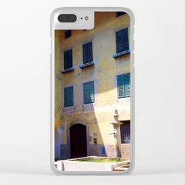 Egna, South Tryol, Italy Clear iPhone Case