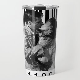 Breakfast Kiss in a Barcode Travel Mug