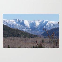 Summer Snowy Mountain Rug