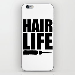 Hair Life iPhone Skin