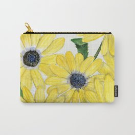 Strangely Sunny Carry-All Pouch