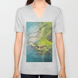 Eagle Valley Fantasy Unisex V-Neck