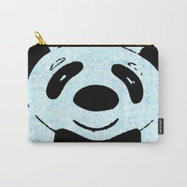zoomed panda Carry-All Pouch