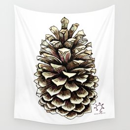 Pine Cone Wall Tapestry