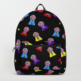 Gumball Machines,small black Backpack