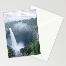 Chasing Waterfalls -- Helmcken Falls Stationery Cards