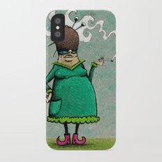 Madame Adipeux iPhone X Slim Case
