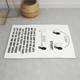 TIME WARP- WITH LYRICS (THE ROCKY HORROR PICTURE SHOW) Rug