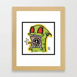 Kid Komodo Framed Art Print