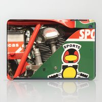 ducati iPad Cases featuring Ducati Motor by Internal Combustion