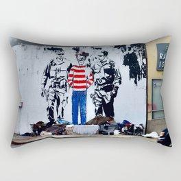 Oh Crap, There's Waldo Rectangular Pillow