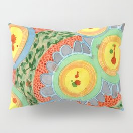 Splashes In Bubbles Pillow Sham