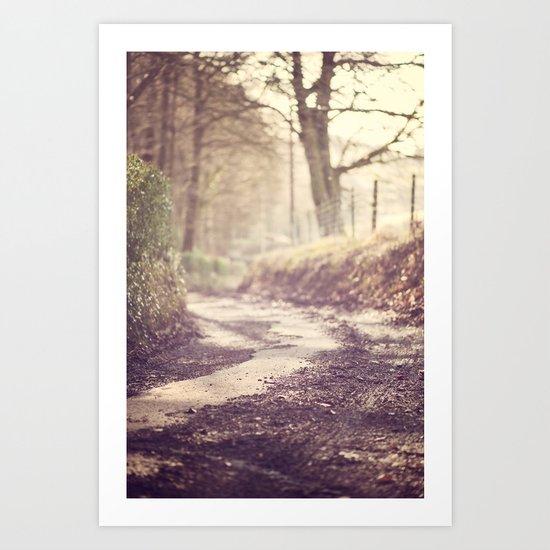 Rudry Lane Art Print