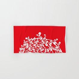 Red Birds Hand & Bath Towel