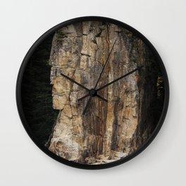 Indian Head Rock - Prince Rupert, BC Wall Clock