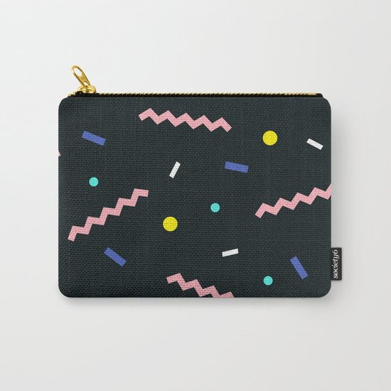 Memphis pattern 58 Carry-All Pouch