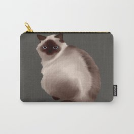 Fluffy Cat Carry-All Pouch