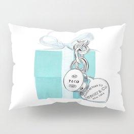 Blue Jewellry Box Pillow Sham