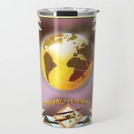 Travel The World Travel Mug