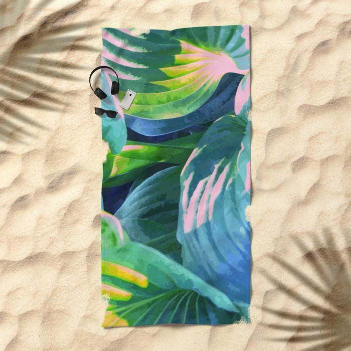 Jungle #society6 #decor #buyart Beach Towel