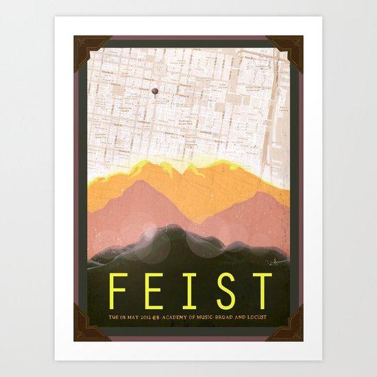 Feist  Art Print