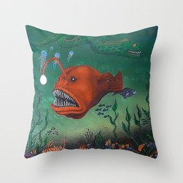 angler Throw Pillow