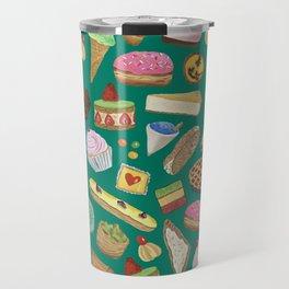 Desserts of NYC Green Travel Mug