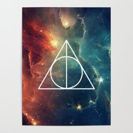 Deathly Hallows Nebula HP Poster