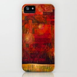 Imaginary Landscapes: Dancing in the Dark iPhone Case