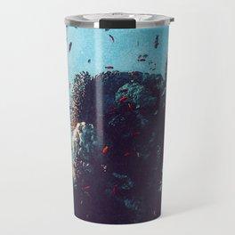 Stunning Coral Reef Watercolor Ocean Art Beautiful Earth Edition Travel Mug