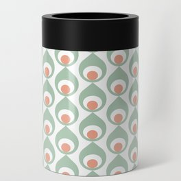 Retro Avocado Muted Can Cooler