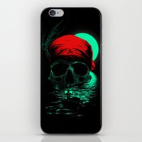 hunting iPhone & iPod Skins featuring Treasure Hunting by nicebleed