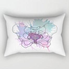Uterus Splat Rectangular Pillow