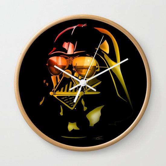 STAR WARS Darth Vader on black Wall Clock