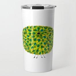 Poofy Pineapple Travel Mug