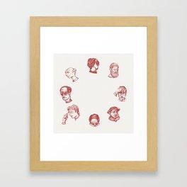 Cry O' Clock Framed Art Print