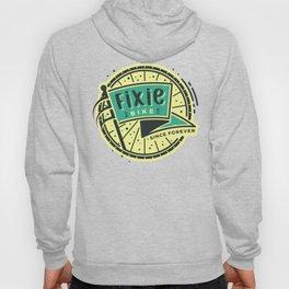 Fixie Bike Badge Hoody