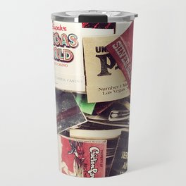 Vintage Matchbook Collection Travel Mug