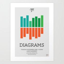 Diagrams Art Print