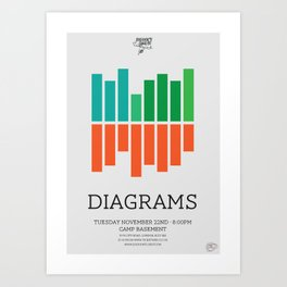 Diagrams Art Print