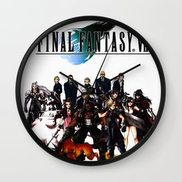 FINAL FANTASY VII Wall Clock