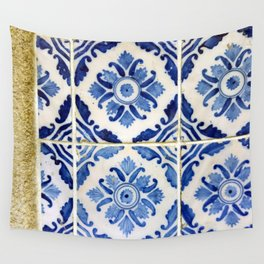 Portuguese tile 3 Wall Tapestry