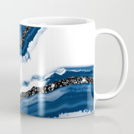 Agate Glitter Glam #14 #gem #decor #art #society6 Coffee Mug