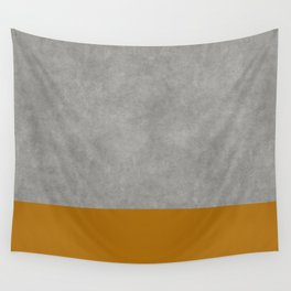 Concrete Colorblock Wall Tapestry