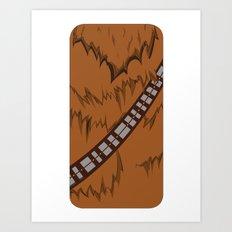 Chewbacca iPhone Case Art Print