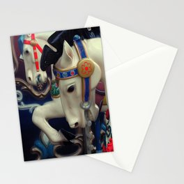 horse on the carousel Stationery Cards